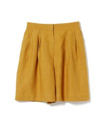 BEAMS OUTLET/【CLASSY.8月号掲載】【洗える】Demi-Luxe BEAMS / リネン ショートパンツ/502307451