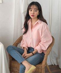 MICHYEORA/MICHYEORA(ミチョラ)ルーズフィットカラーシャツ-/502314719