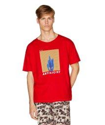 BENETTON (mens)/ドロップショルダーグラフィックTシャツ・カットソー/502316785