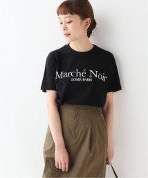 SLOBE IENA/MARCHE NOIR  Logo on the front Tシャツ/502328519
