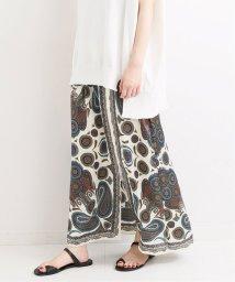 IENA/LISA スカーフプリントロングスカート◆/502328835
