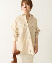 NOBLE/オーバーサイズポケットシャツ/502329178
