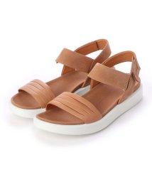 ECCO/エコー ECCO FLOWT W Flat Sandal (LION/CASHMERE)/502330036