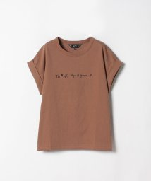 To b. by agnes b./W984 TS ロゴTシャツ/501241936