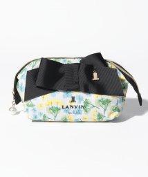 LANVIN en Bleu/ワイヤーポーチ/502003880