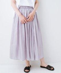 haco!/1枚でも重ね着にも便利なキラキラ素材がかわいいロングスカート by laulea/502314566