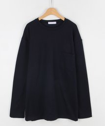 MICHYEORA/MICHYEORA(ミチョラ)胸ポケットTシャツ-/502314806
