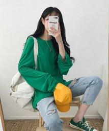 MICHYEORA/MICHYEORA(ミチョラ)シンプルワイドTシャツ-/502314827