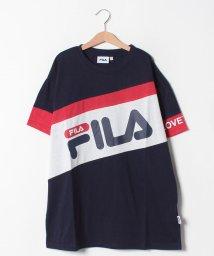 Lovetoxic/FILAコラボ ビッグバイヤスTシャツ/502317000