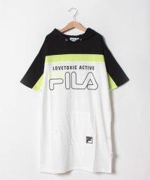 Lovetoxic/FILAコラボ パーカーワンピース/502317004