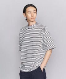 BEAUTY&YOUTH UNITED ARROWS/BY ボーダー モックネック 樽型 Tシャツ -MADE IN JAPAN-/502319748