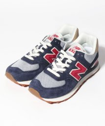 NEW BALANCE/【NEW BALANCE】NEW BALANCE ML574PTR 415 NAVY/RED/502324169
