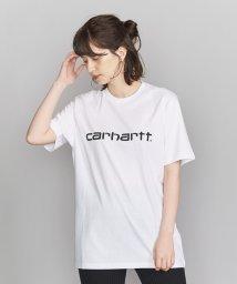 BEAUTY&YOUTH UNITED ARROWS/<Carhartt>ロゴTシャツ/502324207