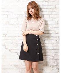 INGNI/アソート釦変わり織り台形スカート/502328468