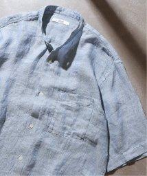 JOURNAL STANDARD relume Men's/Linen Panama バンドカラーシャツ/502333142
