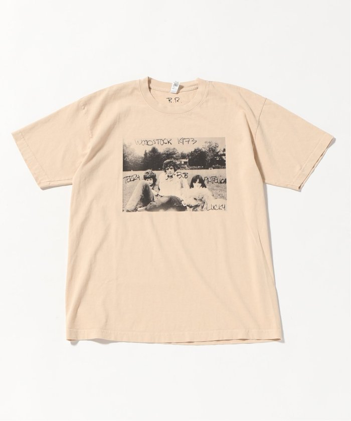 BOB RICHARDSON×JS/ BOB RICHARDSON別注 : WOODSTOCK Tシャツ