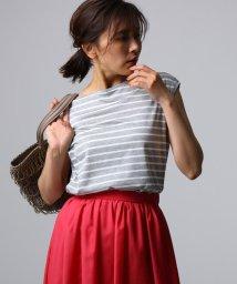 UNTITLED/[L]【洗える】アリオリティ ボーダーフレンチTシャツ/502333161