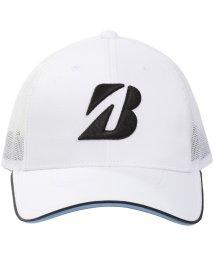 BRIDGESTONE/ブリヂストン/メンズ/19年TOUR B プロモデルハーフメッシュキャップWK/502333334