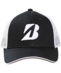 BRIDGESTONE/ブリヂストン/メンズ/19年TOUR B プロモデルハーフメッシュキャップBLK/502333336