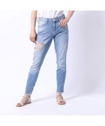 GUESS/ゲス GUESS DESTROYED SEXY CURVE SKINNY DENIM PANT (KAYTON WASH)/502333469