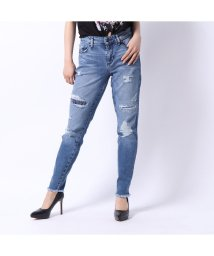 GUESS/ゲス GUESS DISTRESSED SEXY CURVE SKINNY DENIM PANT (ELLIOT WASH)/502333502