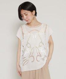 mjyuka/カットワーク刺繍ブラウス/502333515