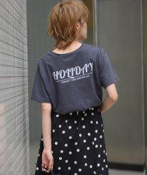 LIPSTAR/スターロゴプリントTシャツ/502316399