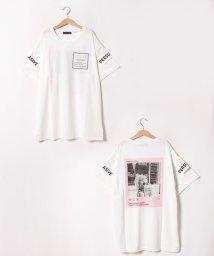 Lovetoxic/バックプリント転写ロング丈Tシャツ/502319792