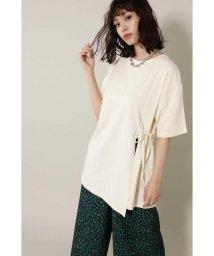ROSE BUD/スリットチュニックTシャツ/502327298