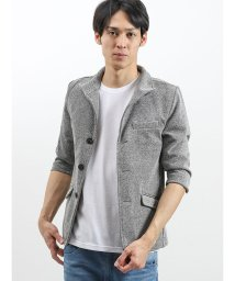 semanticdesign/バイヤス衿ワイヤー7分袖シングルジャケット/502328660
