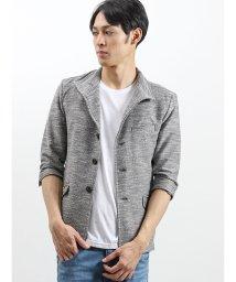semanticdesign/ストレッチスラブ杢7分袖シングルジャケット/502328661