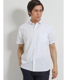TAKA-Q/ハニカムジャガード カッタウェイ半袖シャツ/502328698