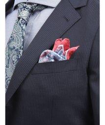 TAKA-Q/アレキサンダージュリアン/ALEXANDER JULIAN MADE IN ITALY ミニ小紋柄シルクチーフ/502329010