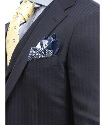 TAKA-Q/アレキサンダージュリアン/ALEXANDER JULIAN MADE IN ITALY ミニ小紋柄シルクチーフ/502329011