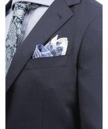 TAKA-Q/アレキサンダージュリアン/ALEXANDER JULIAN MADE IN ITALY ミニ小紋柄シルクチーフ/502329013