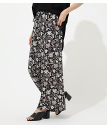 AZUL by moussy/ETHNIC FLOWER WIDE PANTS/502333998