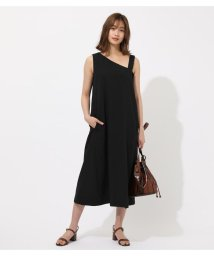 AZUL by moussy/ASYMMETRY NECK LONG ONEPIECE/502334014