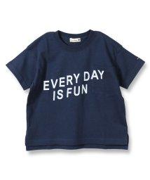 branshes/ロゴプリント半袖Tシャツ(80~150cm)/502334396