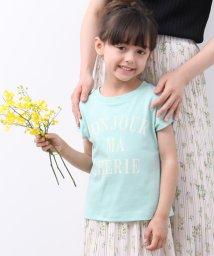ROPE' PICNIC KIDS/【ROPE' PICNIC KIDS】バックリボンプリントTシャツ/502334423
