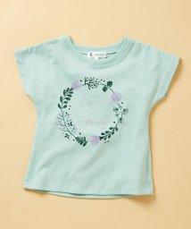 ROPE' PICNIC KIDS/【ROPE' PICNIC KIDS】フラワープリントTシャツ/502334424
