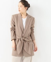 journal standard  L'essage /【Tibi/ティビ】 LONG BLAZER W/REMOVABLE TIE:ジャケット/502336681