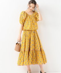journal standard  L'essage /【RHODE RESORT】  FRIDA YELLOW FLOWER:ワンピース/502336690