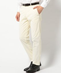 SHIPS MEN/SD: ドレス チノ型パンツ (ホワイト)/502336832