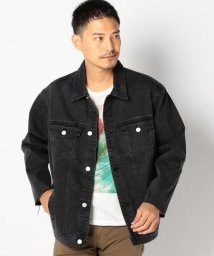 SHIPS MEN/RES DENIM: G-JACKET ブラック/502336838