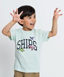 SHIPS KIDS/SHIPS KIDS:ロゴ×恐竜 プリント TEE(100~130cm)/502336922