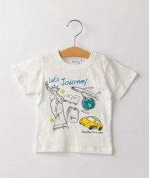 SHIPS KIDS/SHIPS KIDS:ジャーニー&スペース プリント TEE(80~90cm)/502337269
