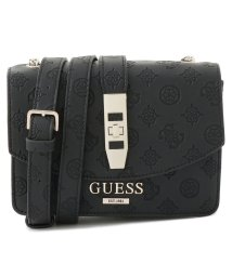 GUESS/ゲス GUESS PEONY CLASSIC MINI CROSSBODY FLAP (BLACK)/502337795
