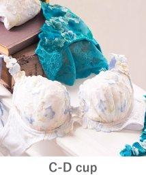 fran de lingerie/GRACE Flower Petal グレースフラワーぺタル コーディネートブラジャー C-Dカップ/501197557