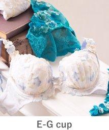 fran de lingerie/GRACE Flower Petal グレースフラワーぺタル コーディネートブラジャー E-Gカップ/501197558