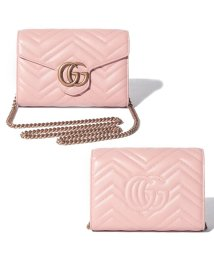 GUCCI/【GUCCI】チェーンショルダー / GG MARMONT  【PERFECT PINK】/502278171
